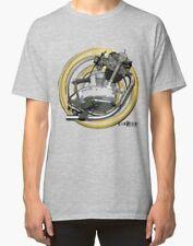 TRIUMPH TIGER CUB T20 Vintage Moteur Moto T-shirt inished Productions