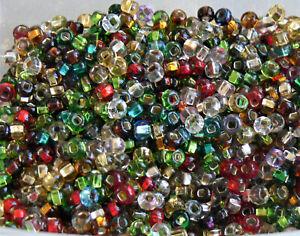 Limited Mixes 6/0 Czech Beads 10-Grams UR PICK Glass Seed Beads