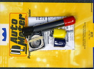 Auto Meter 3239 Black  Mini Pro Shift Lite Warning Light Pro-Lite Autometer