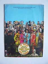 The Beatles Sgt.Pepper '87 Granada TV Press Release With George Harrison Doodles