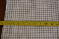 By 1/2 Yd, Brown & Cream Plaid Quilt Cotton, RJR/Dolce/Beaves/Violet Patch,M8504