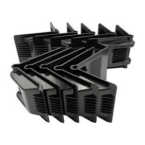 Plastic Corner Protectors Heavy Duty x10 (Strap Webbing Ratchet Secure Pallet)