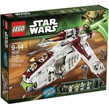"LEGO Star Wars Republic Gunship 2013 (75021) Brand New Factory Sealed -  ""RARE"""