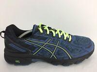 Asics Gel-Venture 6 Navy Textile Sports Trainers 1012A504 Men UK 10.5 Eur 45