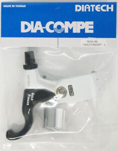 DIA-COMPE TECH99 GOLD FINGER Brake Lever (Left Only) White x Black
