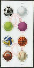 """Scott #5203-10 Used S/Sheet/Block of 8, """"Have a Ball"""" On Sheet Paper"""
