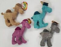 """Cuddle Camels Plush Squeaking Camel Dog Toys In Choice Of 4 Colors ~ 13"""" Tall"""