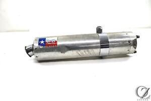 """Kawasaki ZZR400 /& ZZR600 9/"""" Stainless Oval Muffler Exhaust 90-02 03 04 05 06 07"""