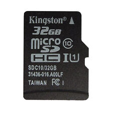 NEW KINGSTON 32GB  MICRO SD SDHC CLASS 4 C4 FLASH MEMORY CARD microSD W/Adapter