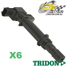 TRIDON IGNITION COIL x6 FOR Jeep  Cherokee KJ 09/01-11/04, V6, 3.7L 2W