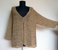 Annette Gortz Stone Knitted Strickjacke/Cardigan, Gr:XL