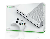 Microsoft XBox One S Konsole White 1TB Spielekonsole NEU Rechnung^