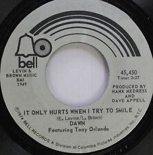 Pop 45 Dawn - It Only Hurts When I Try To Smile / Sweet Summer Days Of My Life O
