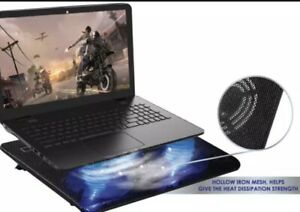 Gamer Pro's Chill Pad- Laptop Cooler Cooling Pad & Stand, 3 Fans, Dual USB