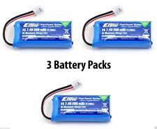 New 3 Packs of E-Flite MCP X BL 200mAh 2S 7.4V 30C LiPo Battery #EFLB2002S30