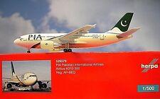 Herpa Wings 1:500 Airbus a310-300 Pia Pakistan AP-Beq 526579 modellairport 500