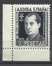 C147-MNH**SELLO 5 PTS ESPAÑA GUERRA CIVIL FALANGE JOSE ANTONIO PRIMO DE RIVERA