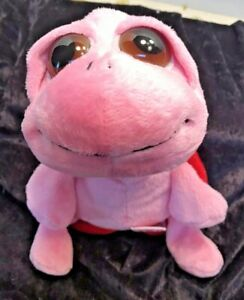 Russ Squirtle Pink Plush Turtle 9""