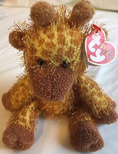 Plush Stuffed animal with tags TY Punkies Treetop Giraffe