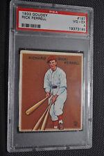 1933 Goudey - Rick Ferrell - #197 - PSA 4 - VG-EX