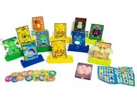 Pokemon Burger King Meal Toys 2000 Collectible Power Cards (lot of 12)