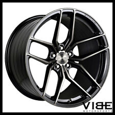 "18"" STANCE SF03 18X8.5 BLACK FORGED CONCAVE WHEELS RIMS FITS AUDI C6 A6"