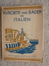 Kurorte und Bäder in Italien Reiseführer ca. 1933