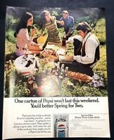 1991 Pepsi Original Print Ad-Magic Johnson-8.5 x 10.5-Four Page Ad