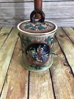 Antique Tobacco Humidor Jar West Germany