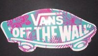 Pink And Blue Vans Off The Wall Sticker