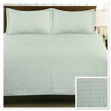 Rapport Harrogate Quilted Bedspread 220x250cm + Optional Pillowshams Mint Green
