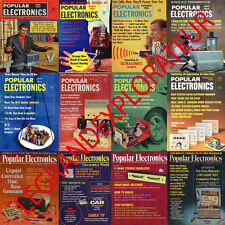 Ultimate 465 Popular Electronics  Magazine Collection (465 PDFs Issues on  DVD)