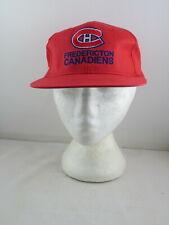 Vintage AHL Hat - Fredericton Canadiesn by AMK - Adult Snapback