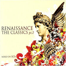 RENAISSANCE CLASSICS 2 - 3 X CDS MIXED OLDSKOOL PIANO HOUSE / RAVE 90S CD CDJ DJ