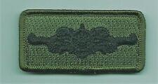 United States Coast Guard Uscg patch 1-1/4 X 2-1/2 cutterman subdued