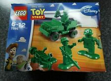 Lego 7595 Disney Toy Story soldados Y Jeep