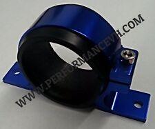 BLUE Fuel Pump Mounting Bracket Single Filter Clamp Cradle  BOSCH 044 60mm