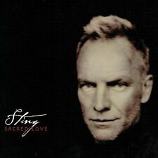 Sacred Love [Bonus Track] by Sting (The Police) (CD, 2003, A&M (USA))