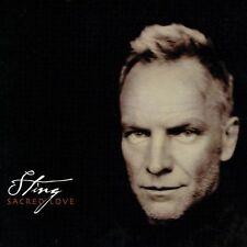 Sacred Love [Bonus Track] by Sting (CD, 2003, A&M (USA))