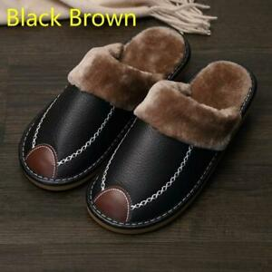 Leather Waterproof Slippers