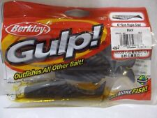 "Berkley Gulp 4"" Ripple Shad watermelon chartreuse 4 count package Nip"