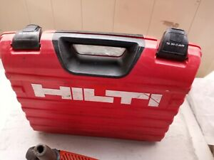 Hilti TE 30-C-AVR Rotary Hammer Drill 120v With Hilti Hard Case and Bits