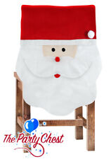 Santa Claus Christmas Time Chair Cover 65x51cm Xmas Party Office Decoration 7099