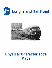 Long Island Railroad LIRR Physical characteristics Maps
