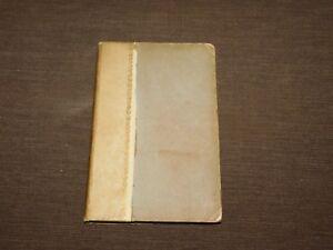 VINTAGE 1888 FITZGERALD'S RUBAIYAT of OMAR KHAYYAM IN VERSE BOOK