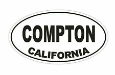 Compton California Sticker Vinyl Decal 4-340