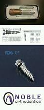 Orthodontic Micro Implant Driver Complete Kit: 10 Mini Screws, 2 Shafts & Pilot