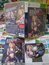 Xbox 360:Lollipop Chainsaw [TOP & 1ERE EDITION RARE] COMPLET - Fr