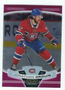 2019-20 OPC Platinum Matte Pink #67 Jonathan Drouin Montreal Canadiens