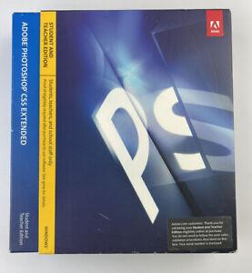 Adobe Photoshop CS5 Extended retail GENUINE Windows STUDENT / TEACHER EDITION